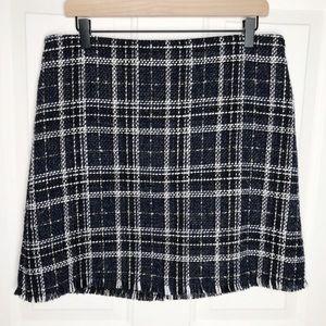 Sanctuary Plaid Blanket Skirt Size XL
